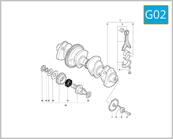 G02 - Crank Shaft Assembly