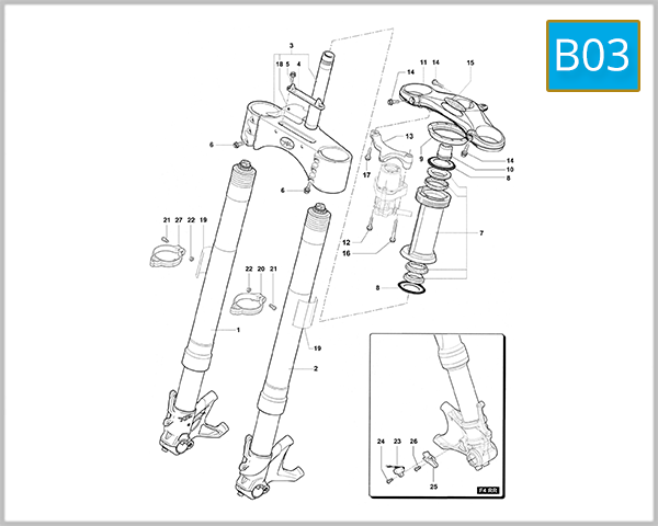 B03 - Front Suspension Assembly