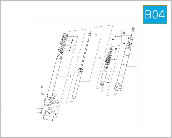 B04 - Right Hand Fork (F4 - F4 R)