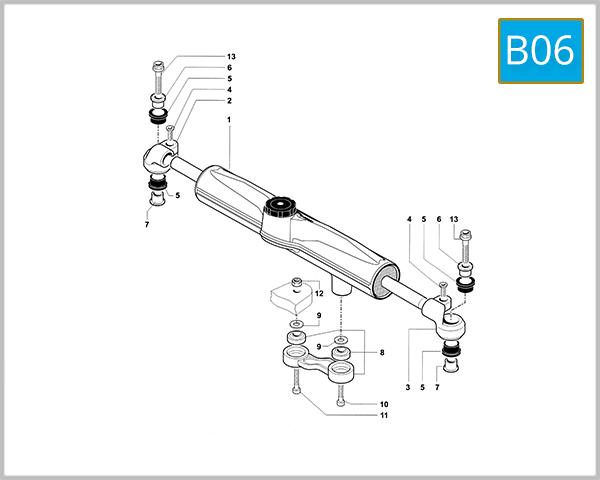 B06 - Steering Damper (F4 - F4 R)