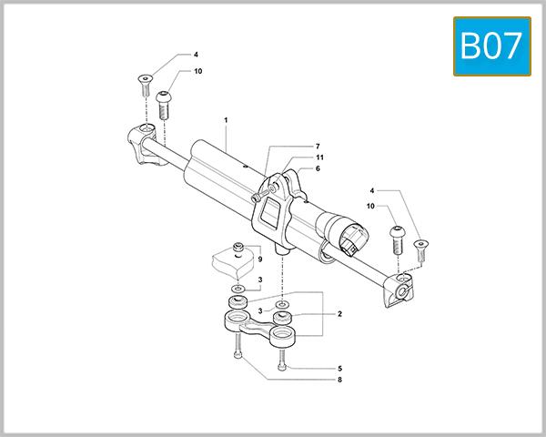 B07 - Steering Damper (F4 RR)