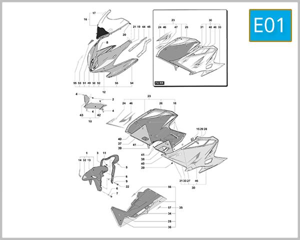 E01 - Fairing Assembly