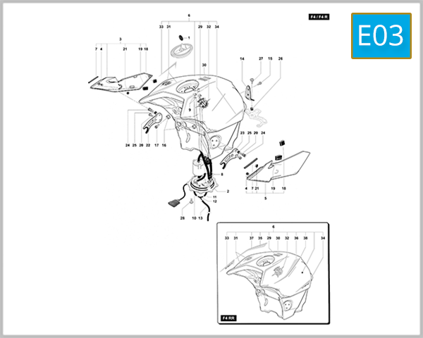E03 - Fuel Tank Assembly