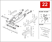 022 - REAR SWING ARM