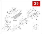 025 - PANEL FENDERS SEAT