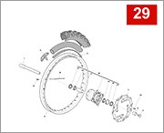 029 - FRONT WHEEL (RS 300-500R)