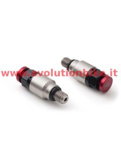 AS3 Performance Fork Air Bleeder Valves Red