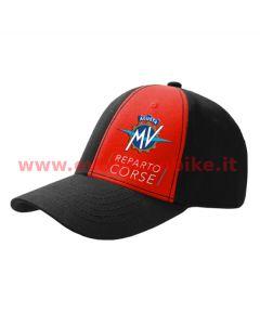 MV Agusta Reparto Corse Black/Red Baseball Cap