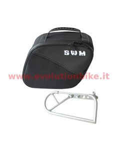 SWM Cordura Right Side Bag (fitting bracket included)