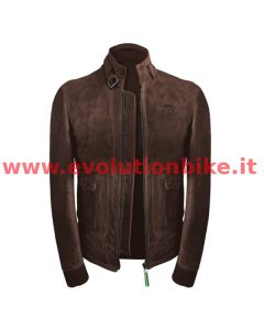 MV Agusta Reparto Corse Vintage Brown Leather Jacket
