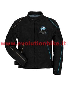 MV Agusta Reparto Corse Black Leather Jacket