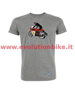 MV Agusta Reparto Corse Vintage Rider Grey T-Shirt