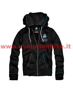 MV Agusta Reparto Corse Black Piping Zip-Up Hoodie