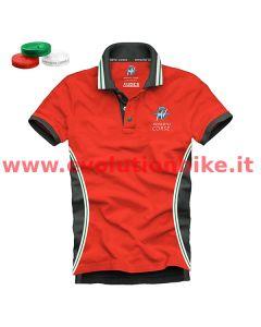 MV Agusta Reparto Corse Red/Black Polo