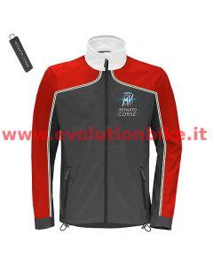 MV Agusta Reparto Corse Dark Grey/Red Softshell Jacket