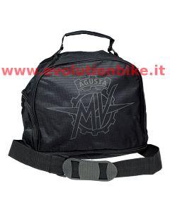 MV Agusta Black Helmet Bag