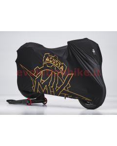 Black bike cover - front