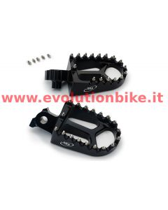AS3 Performance Extra Wide Foot Pegs (Racing Series)